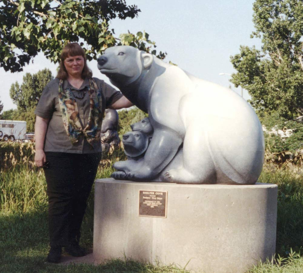 Shelter Cove, Monument-Polar Bear family, Ltd Ed. 12  $29500